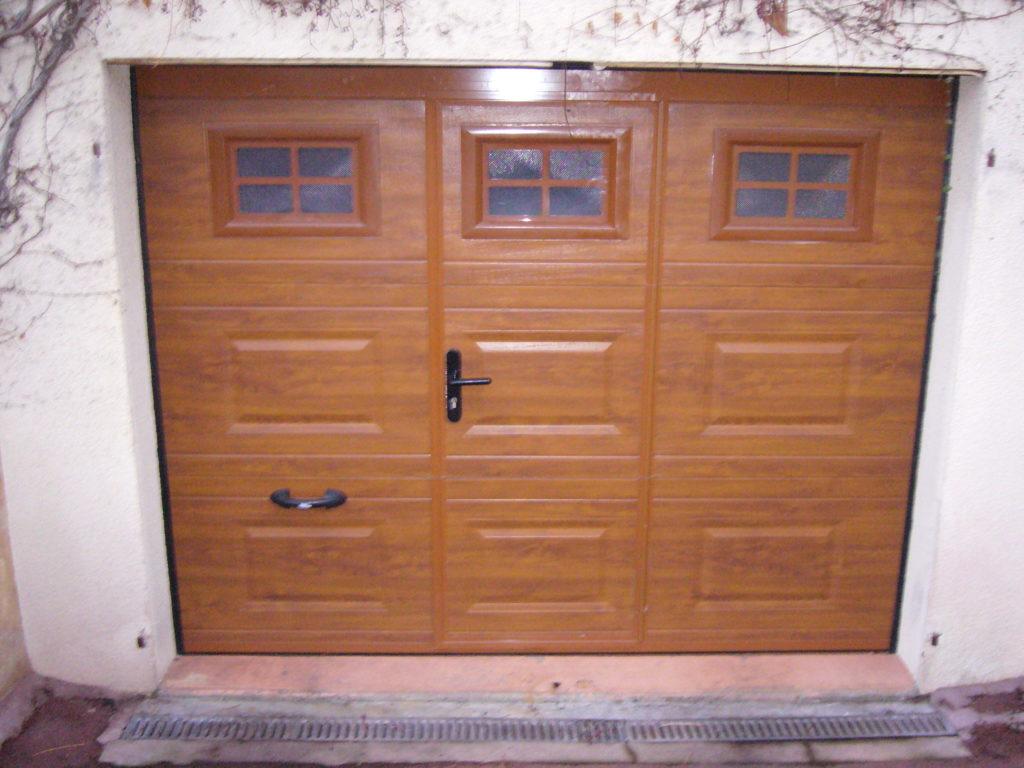 Porte de garage sectionnelle plafond Appiano