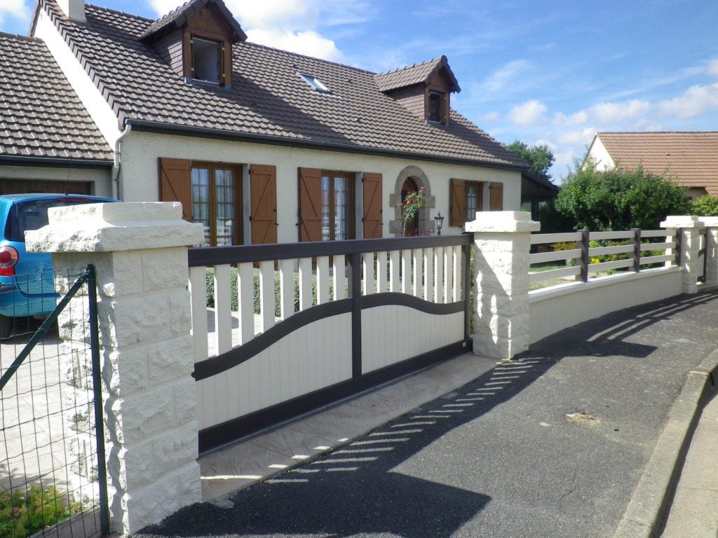 Portail aluminium traditionnel Appiano