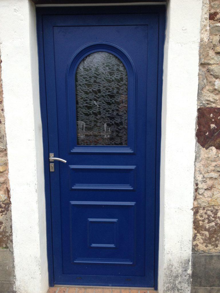 Porte d'entrée aluminium traditionnel Appiano