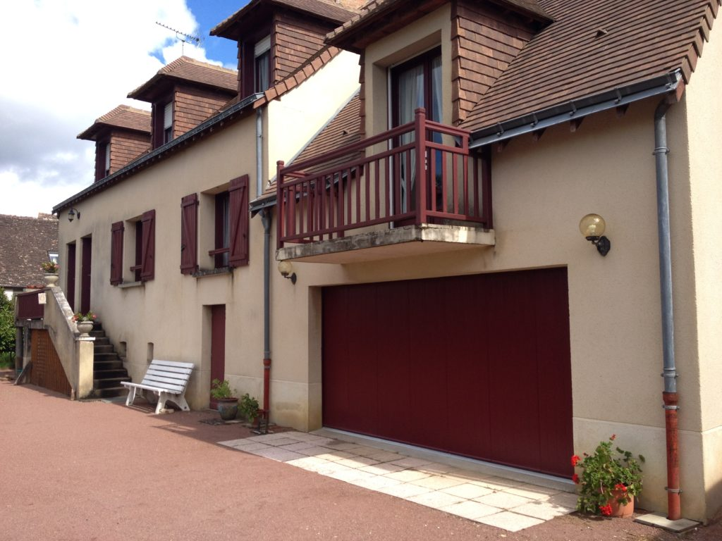 Porte de garage sectionnelle latérale Appiano