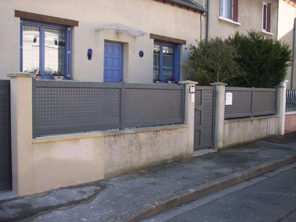 Clôture aluminium Appiano